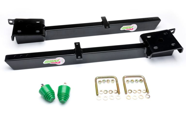The suspension traction bar designed by Southside Machine.