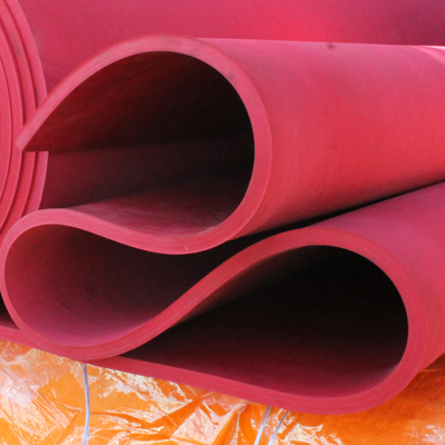 A role of Wenco's protective rubber lining.