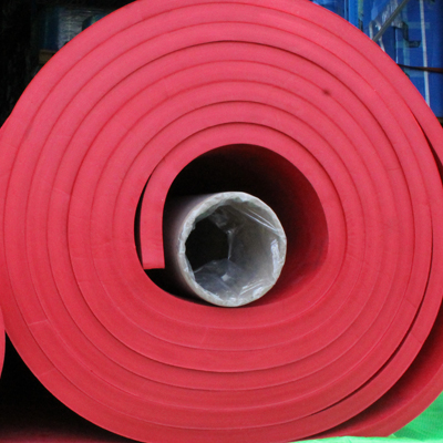 A large roll of Wenco's rubber linings USA.