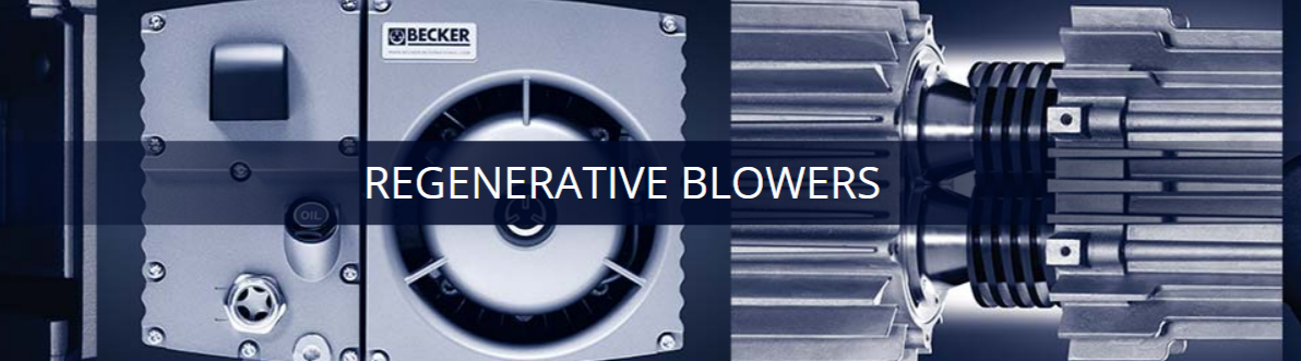 Regenerative Blowers | Becker Centralized Air Systems
