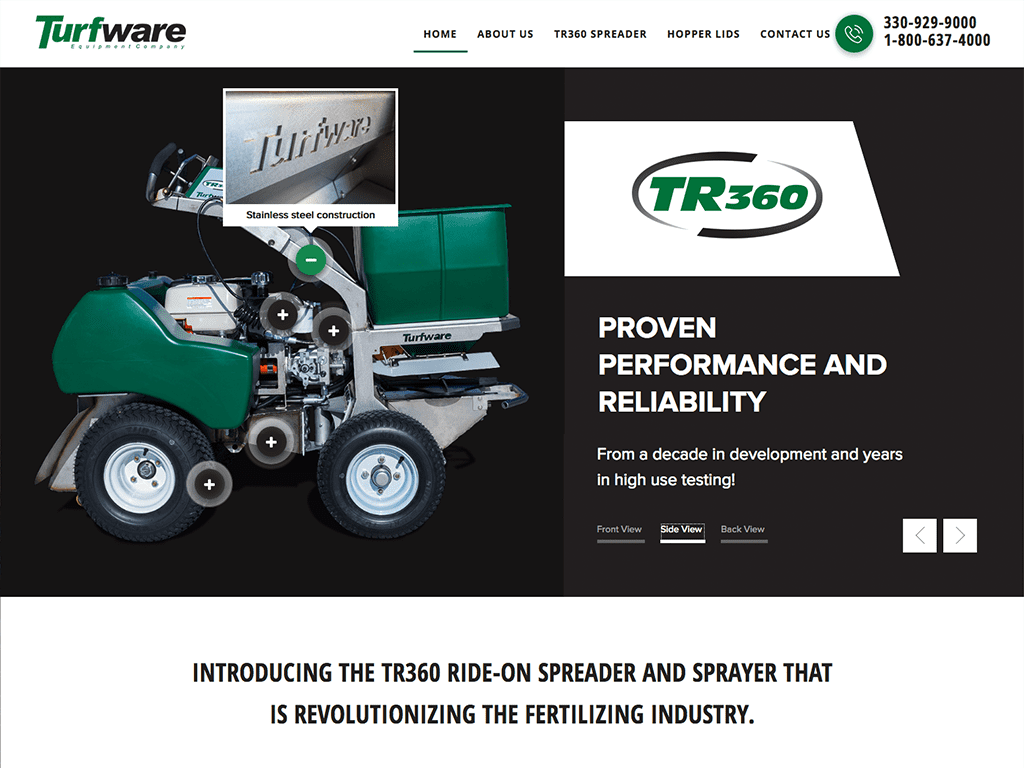 turfware-website-design