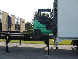 JH Industries Inc. | Portable Loading Docks | Copperloy