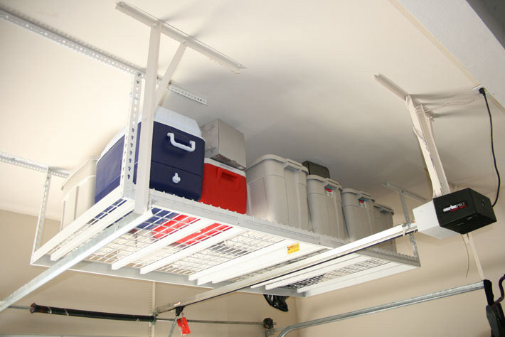 Overhead Garage Storage | Ideal Storage Solutions | Ohio Garage Interiors