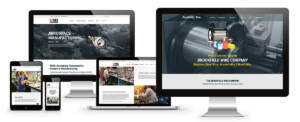 creative examples of industrial manufacturing website design
