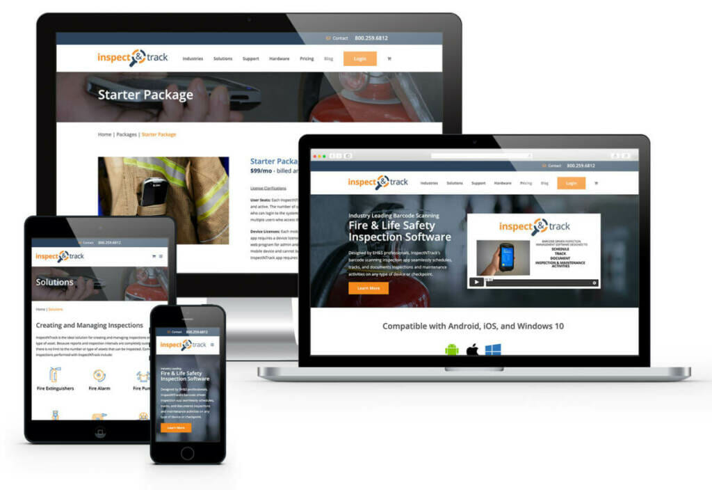 web design Akron work samples